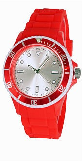 Наручные пластиковые промо часы Columba