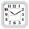 Часы с логотипом Модель 03 квадратные