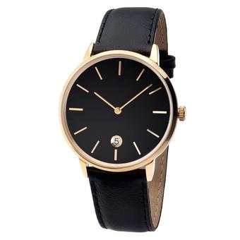 Часы мужские Aquarius S01-MG с чёрным циферблатом