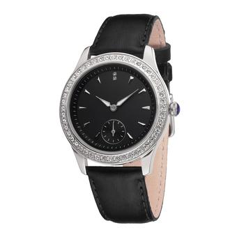 Часы женские Corvus S02-LS с чёрным циферблатом