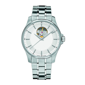 Часы с логотипом Prestige Open Heart Automatic PLA 44050.02