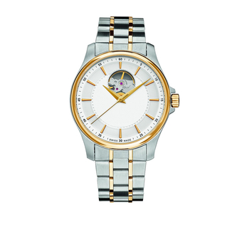 Часы с логотипом Prestige Open Heart Automatic PLA 44050.03