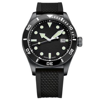 Часы с логотипом Sport Diver PLA44075.05 на каучуковом ремне