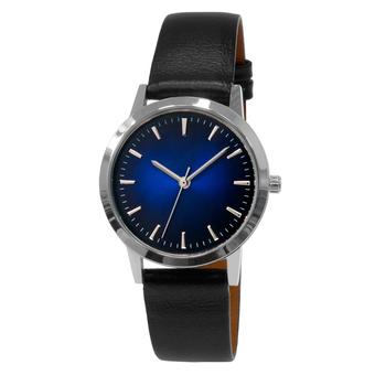 Часы женские Sagitta L01-LS с двухтоновым сине-чёрным циферблатом