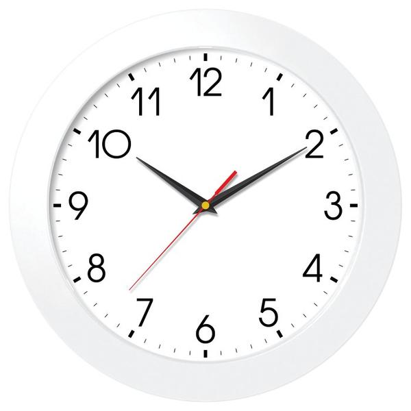 Настенные часы модель 05 белый корпус
