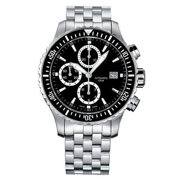 Часы с логотипом Captain Automatic PLA 40005.01