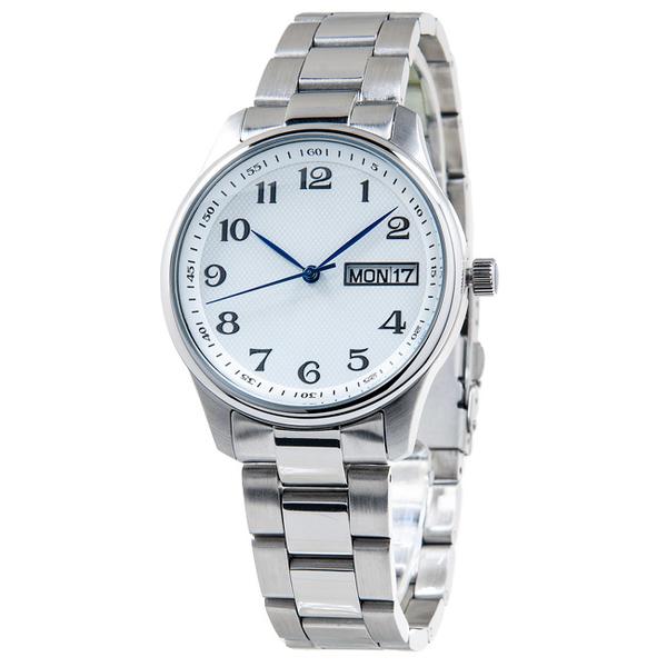 Наручные часы S03-MS ORION с белым циферблатом