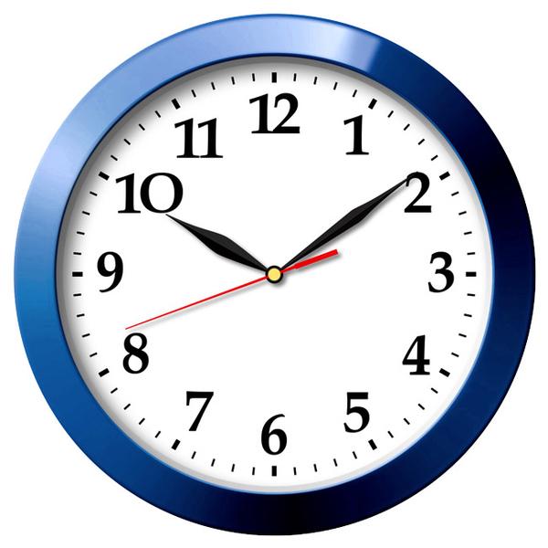 Часы с логотипом Модель 06 круглые