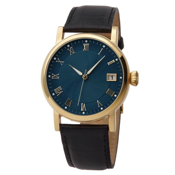 Часы мужские Lacerta A06-MG с синим циферблатом