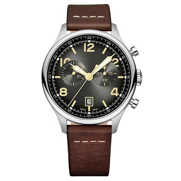 Часы с логотипом Vintage PL40192.12