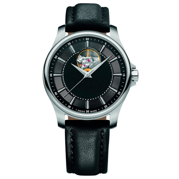 Часы с логотипом Prestige Open Heart Automatic PLA 44050.05