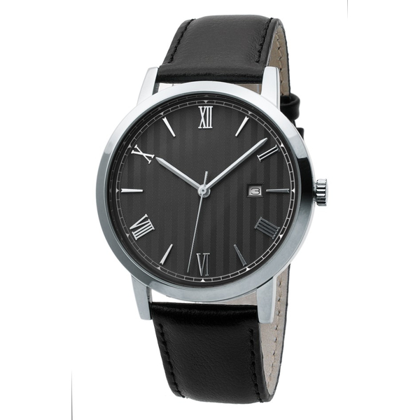 Часы мужские Sagitta Date L01D-MS с чёрным циферблатом