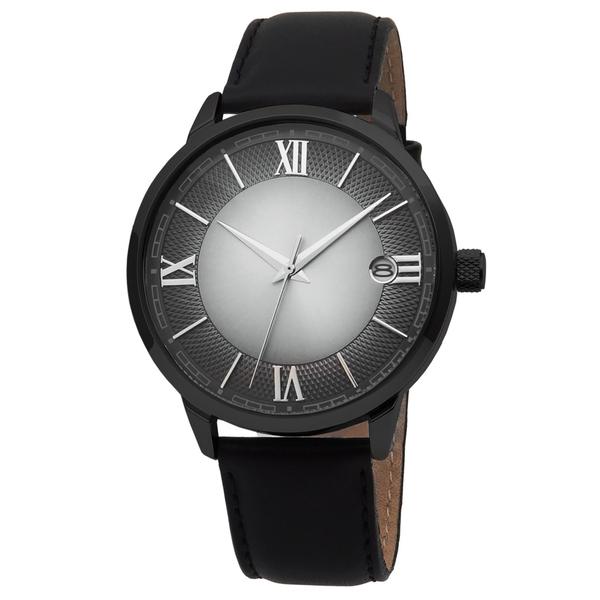 Часы мужские Mensa L03N-MB с тёмным циферблатом