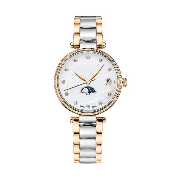 Часы с логотипом Moonphase Lady PL40196.02