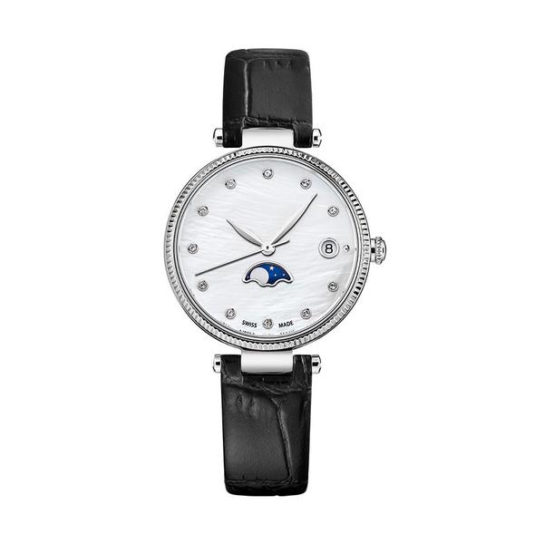 Часы с логотипом Moonphase Lady PL40196.04