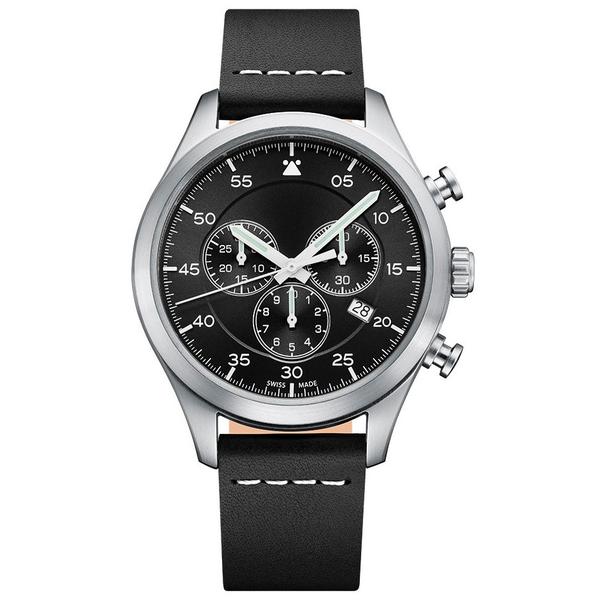 Часы с логотипом Vintage Chrono PL44076.04