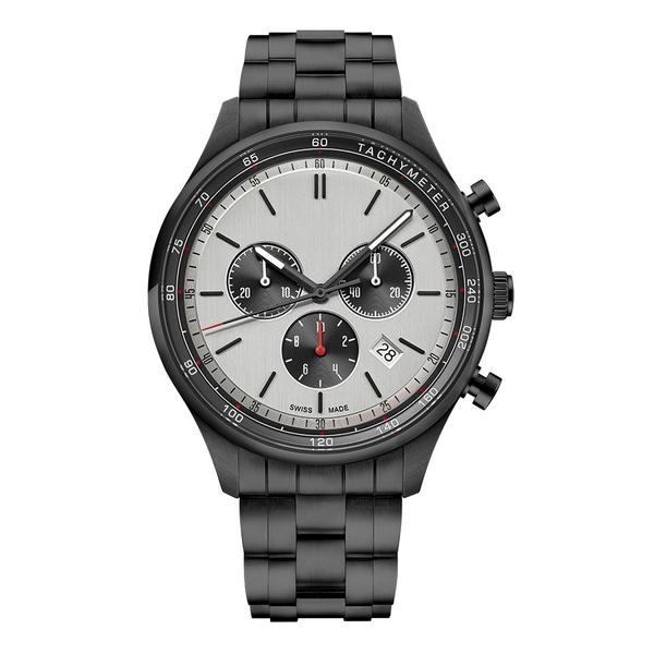 Часы с логотипом Deluxe PL44081.05
