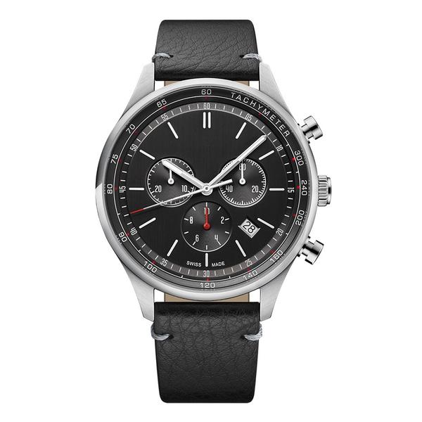Часы с логотипом Deluxe PL44081.06