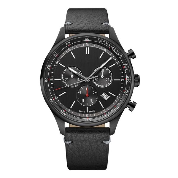 Часы с логотипом Deluxe PL44081.10