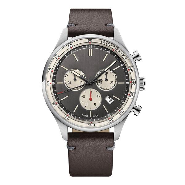 Часы с логотипом Deluxe PL44081.12