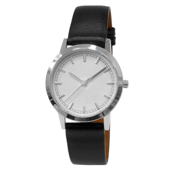 Часы женские Sagitta L01-LS с белым гильошированным циферблатом