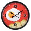 Часы с логотипом Модель 09 Круглые чёрные
