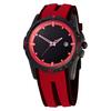Наручные часы Hercules-II A05-MB красные с чёрным циферблатом
