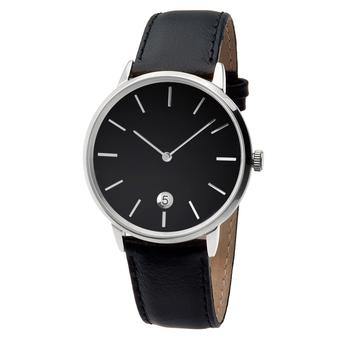 Часы мужские Aquarius S01-MS с чёрным циферблатом