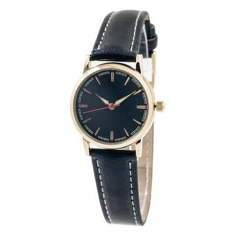 Часы наручные A03-LG с черным циферблатом