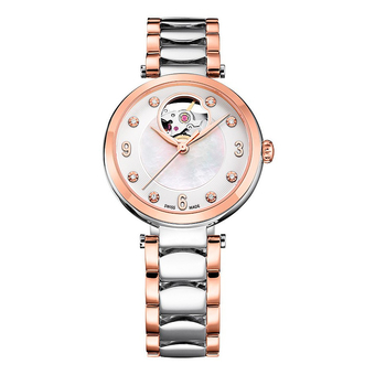 Часы с логотипом Lady Diamond Automatic PLA40008.03