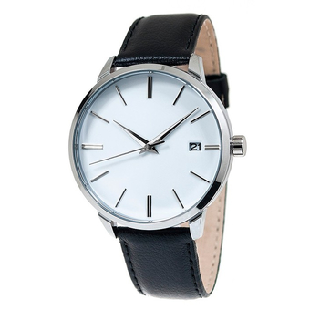 Часы мужские Mensa L03-MS с белым циферблатом