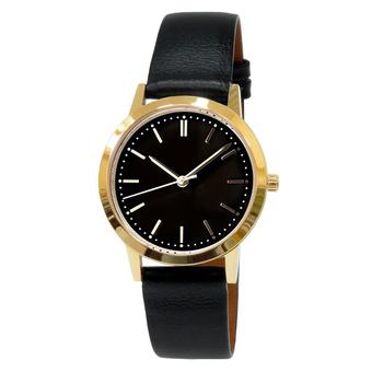 Часы женские Sagitta L01-LG с чёрным циферблатом