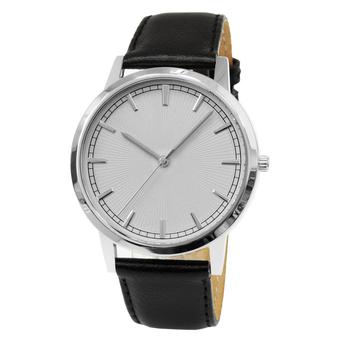 Часы мужские Sagitta L01-MS с белым гильошированным циферблатом