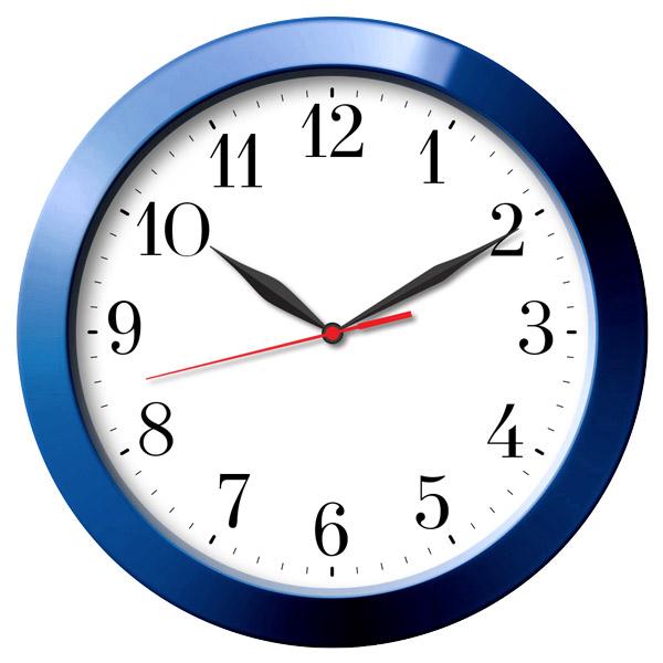 Часы с логотипом Модель 01  Круглые