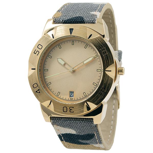 Наручные часы Fornax A02-MG с золотым циферблатом