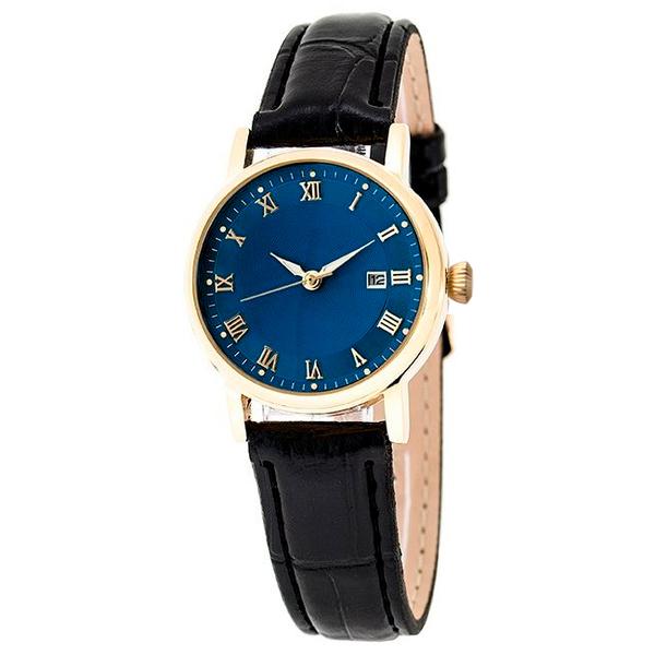 Часы женские Lacerta A06-LG с синим циферблатом