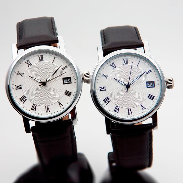 Часы мужские Lacerta A06-MS с синими и чёрными индексами