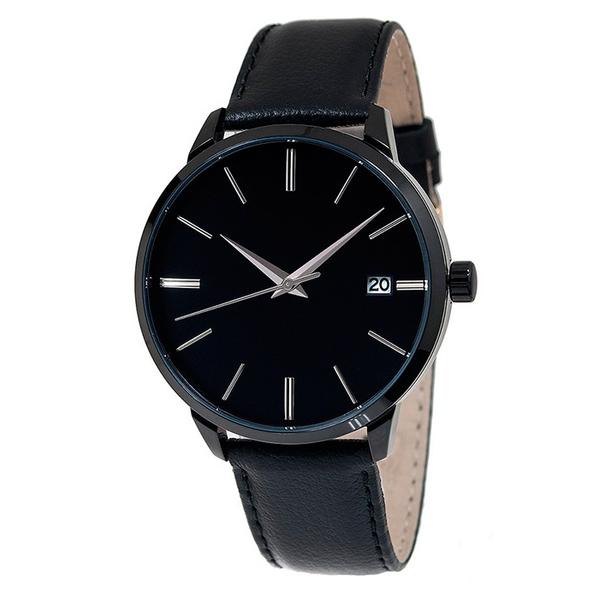 Часы мужские Mensa L03-MB с черным циферблатом