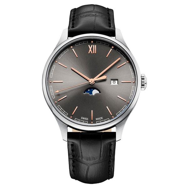Часы с логотипом Moonphase Gent PL40202.04