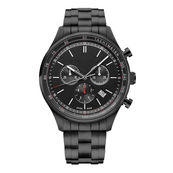 Часы с логотипом Deluxe PL44081.04