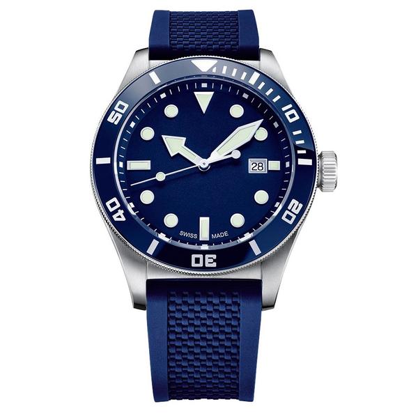 Часы с логотипом Sport Diver PLA44075.07 на каучуковом ремне