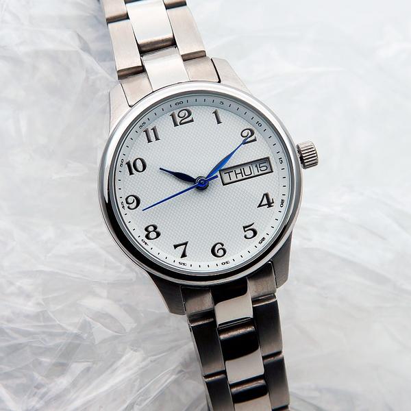 Наручные часы S03-LS ORION с белым циферблатом