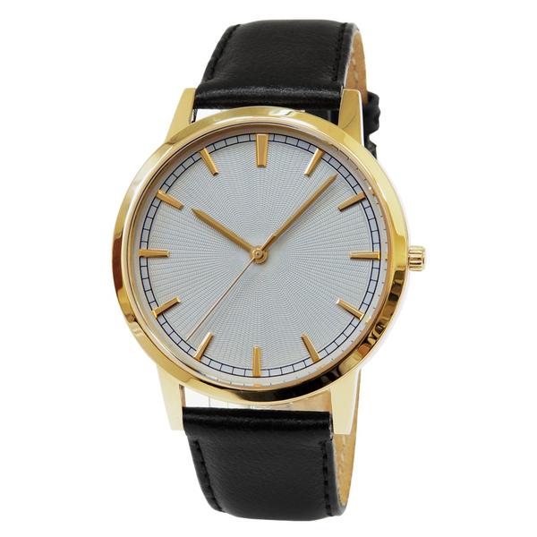 Часы мужские Sagitta L01-MG с белым гильошированным циферблатом