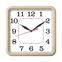Часы с логотипом Модель 08  квадратные